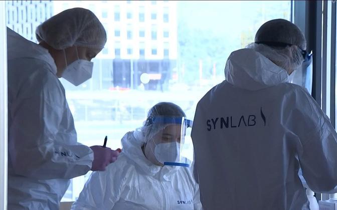 В Эстонии растет число зараженных коронавирусом.
