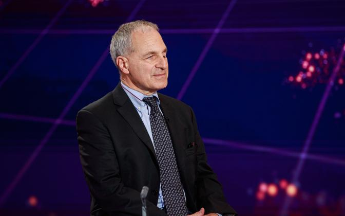 US lawyer Louis Freeh in the AK studio in September 2020.