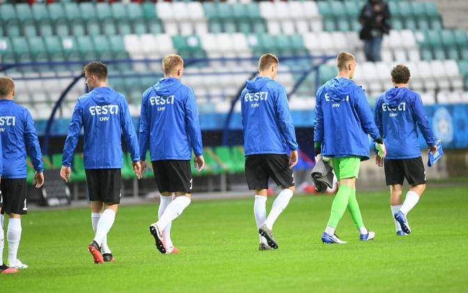 Estonian men's national football team.