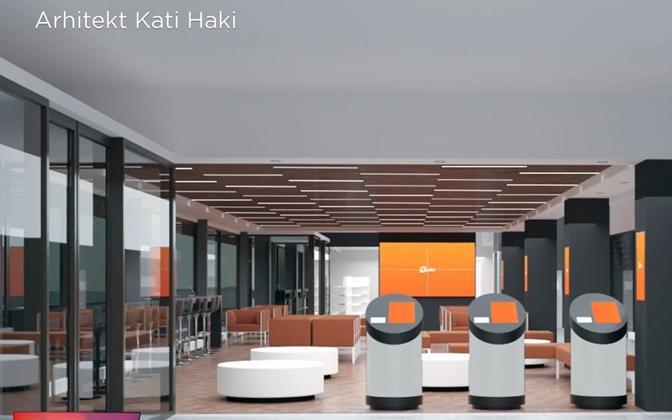 Designs for Tartu bus station.