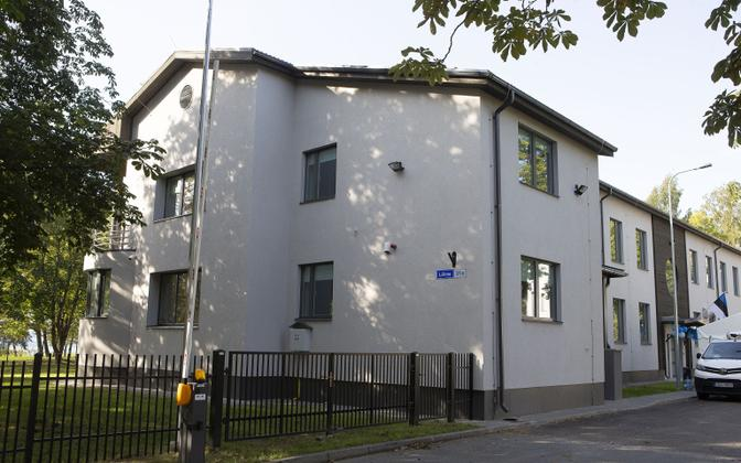 Опорный дом Таллиннского центра душевного здоровья.