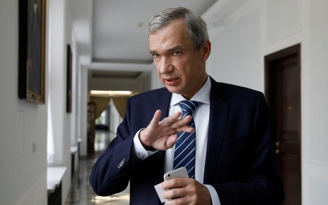 Valgevene opositsiooni üks juhte Pavel Latuško.