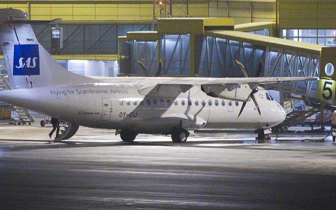 ATR 42-500. Sama mudeliga hakkab Nyx Air vedama reisijaid Tallinna ja Kuressaare vahel.