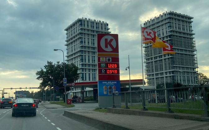 Kütusehinnad Eestis.