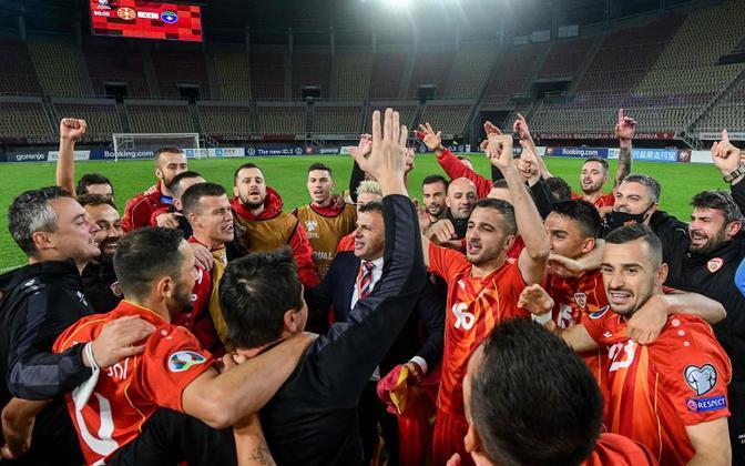 Põhja-Makedoonia jalgpallikoondis