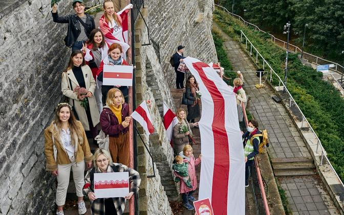 11. oktoobril Tallinnas toimunud Valgevene naiste toetamise marss