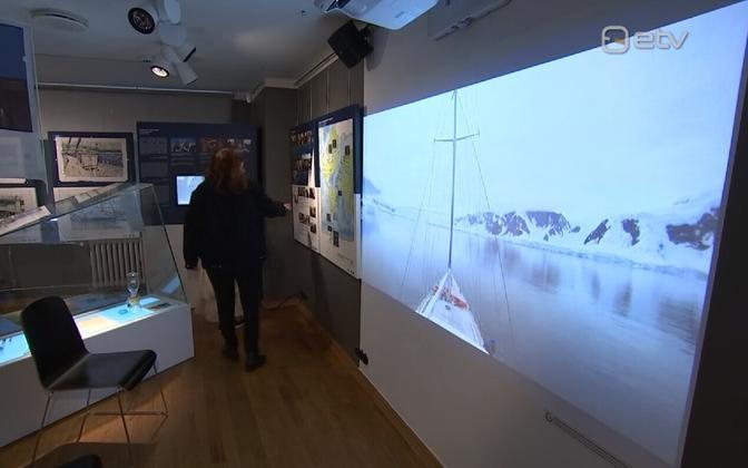 В Тарту открылась выставка о морской экспедиции в Антарктиду.