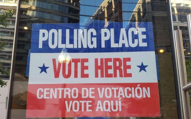 Valimisjaoskond Washingtonis