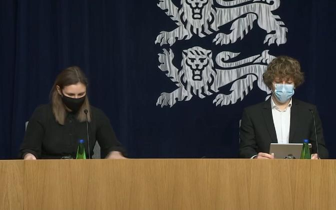 Mari-Anne Härma ja Tanel Kiik.