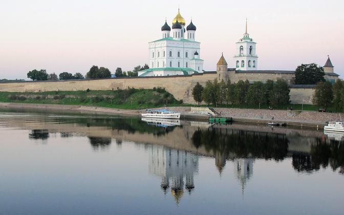 Pskov's Kremlin.