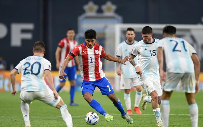 Argentina - Paraguay MM-valikmäng