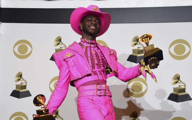 Lil Nas X 62. Grammy auhindade jagamisel.