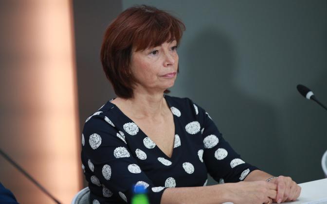 Adviser to the Epidemic Control Department at the Health Board Irina Dontšenko.