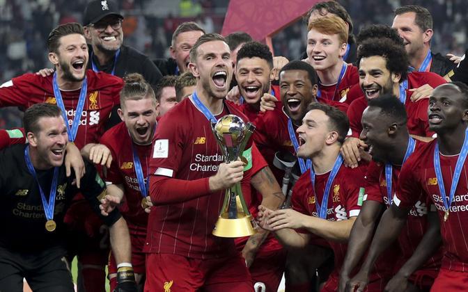 Mullu krooniti jalgpalliklubide maailmameistriks Liverpool