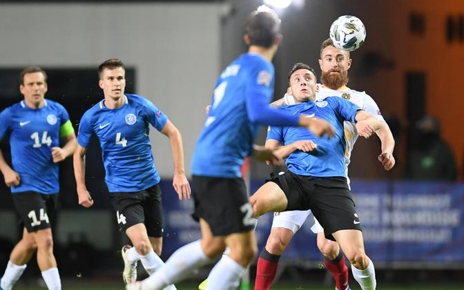 Сборная Эстонии по футболу не одержала в Лиги наций ни одной победы.