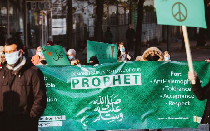 Islami protesteerijad