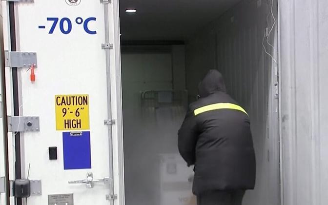 Koroonavaktsiini transport nõuab väga madalat temperatuuri.
