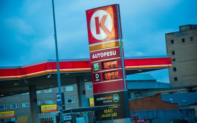 Kütuse hind 24. novembril