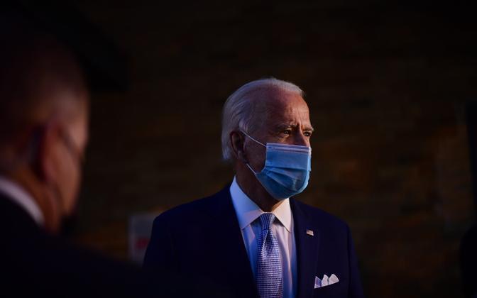 USA presidendivalimised võitnud Joe Biden.