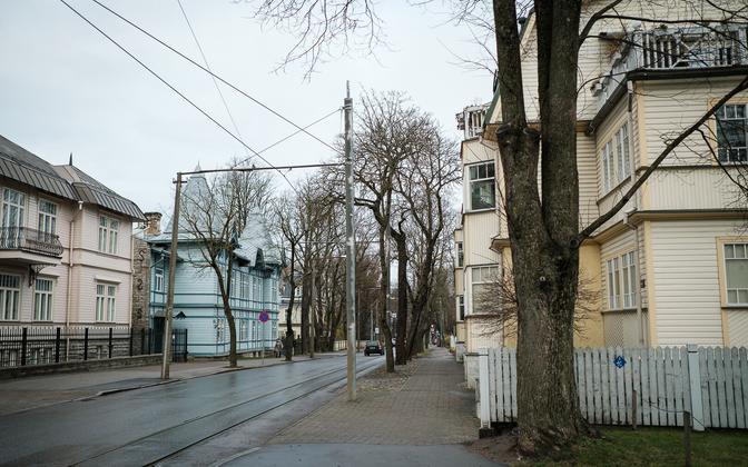 Улица Поска 1 декабря 2020 года.