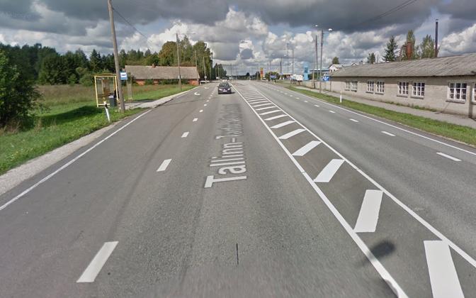 Местные жители беспокоятся, что в результате реконструкции шоссе Таллинн-Тарту им будет неудобно добираться до автобусной остановки.