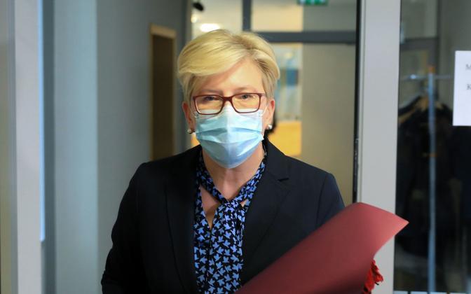 Leedu uus peaminister Ingrida Šimonyte.