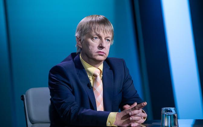 Minister of the Environment Rain Epler on ETV's