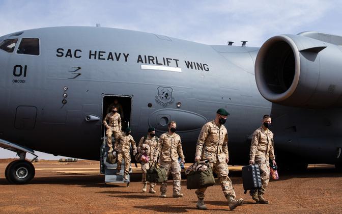 Эстонские военнослужащие из группы BKN-08 прибыли в Мали.