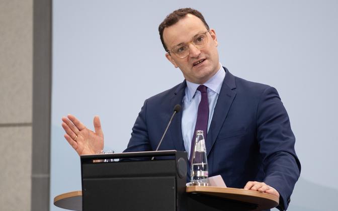 Saksamaa tervishoiuminister Jens Spahn