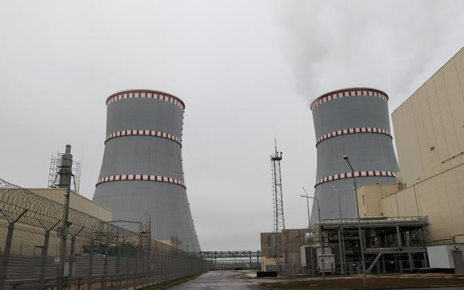 Astravetsi tuumajaam.