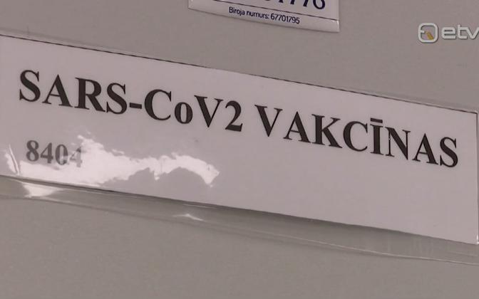 Läti koroonavaktsineerimine.
