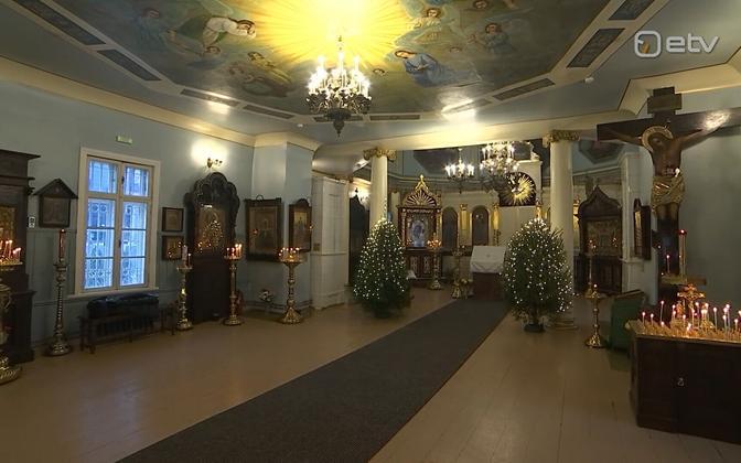 Казанская церковь в Таллинне.