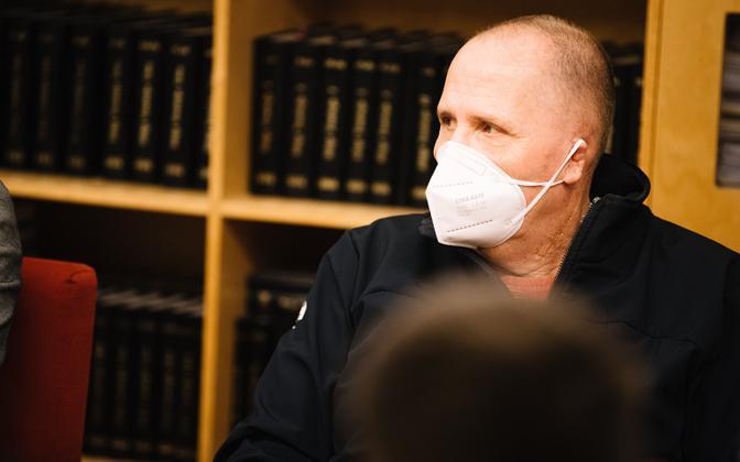 Korruptsioonivastase erikomisjoni aseesimees Valdo Randpere.