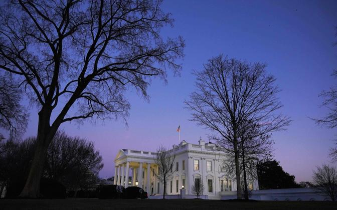 Valge Maja Trumpi viimasel ametisoleku päeval.