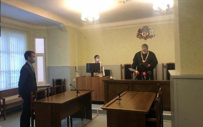 Vidzeme District Court hearing on Thursday.