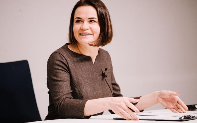 Светлана Тихановская.