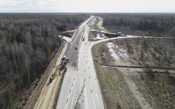 Tallinna ringtee Luige-Juuliku teelõigu ehitus.