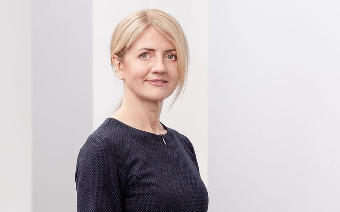 Minster of Foreign Affairs Eva-Maria Liimets.