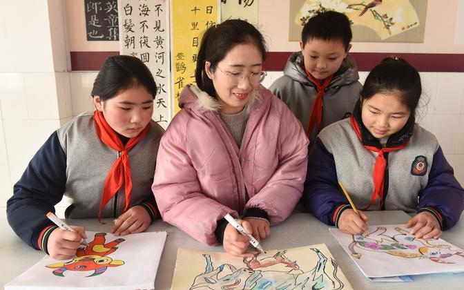 Koolitöö Hiinas