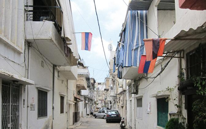 Armeenlaste linnaosa Bourj Hammoud Beirutis.