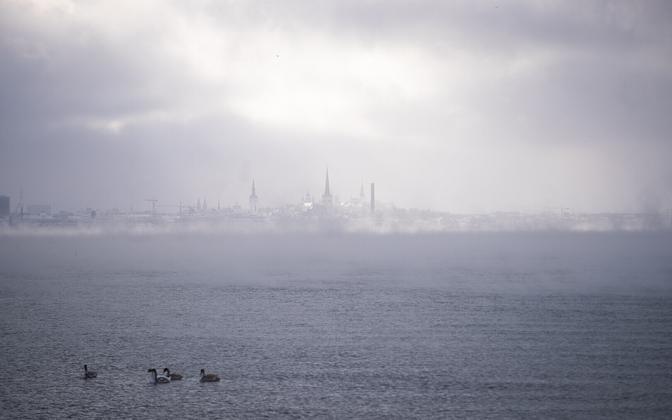 Tallinn in Winter in February 2021.