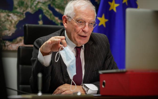 Верховный представитель ЕС по иностранным делам Жозеп Боррель.