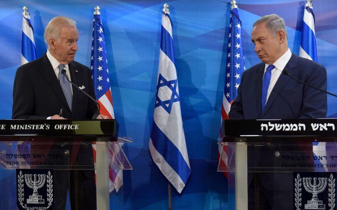 Biden ja Netanyahu 2016. aasta märtsis.