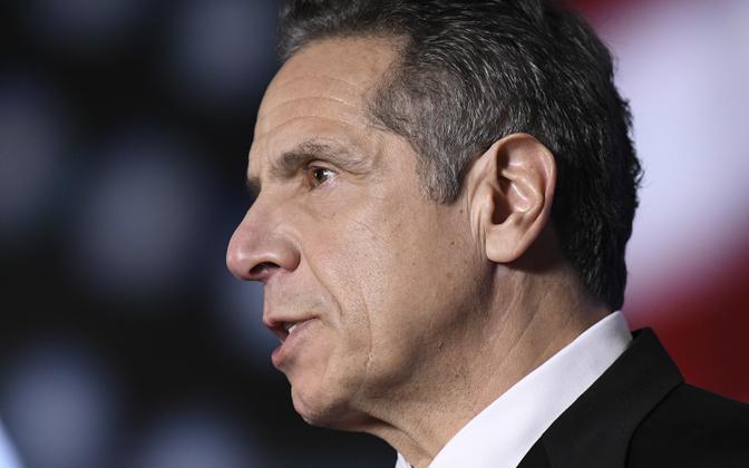 USA New Yorgi osariigi kuberner Andre Cuomo