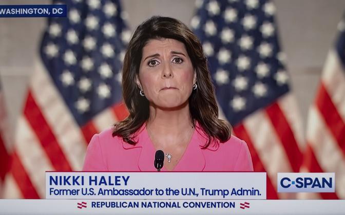 USA endine ÜRO suursaadik Nikki Haley