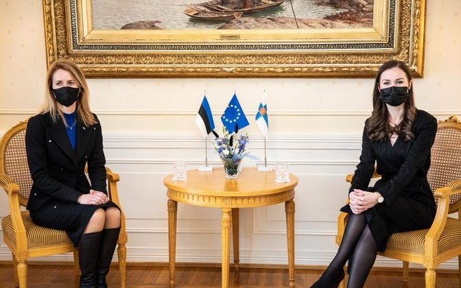 Kaja Kallas ja Sanna Marin