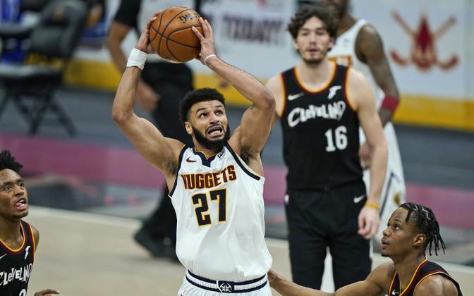 Jamal Murray (palliga) Cleveland Cavaliersi vastu