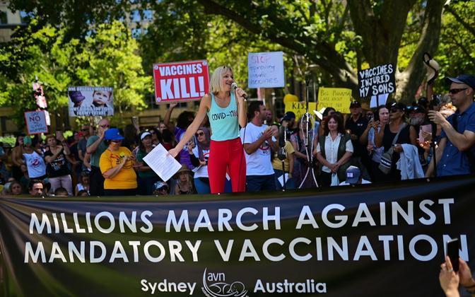 Meeleavaldajad Sydneys.