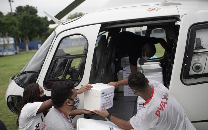 Hiina koroonavaktsiini tarnimine Brasiiliasse