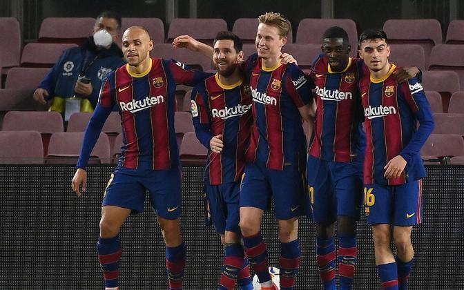 FC Barcelona alistas kolmapäeval Elche 3:0